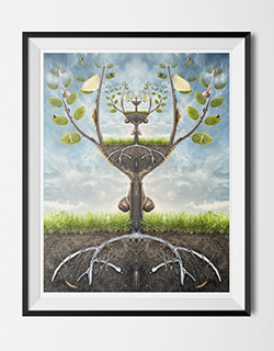 DA1012-digital-art-print-Tree-life-surreal_framed_250px